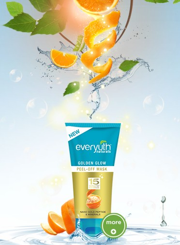 everyuth golden glow peel-off