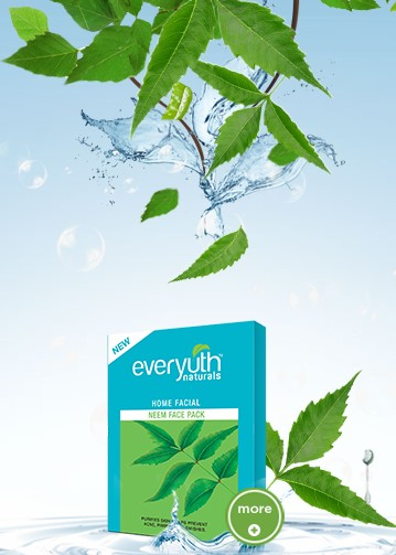 everyuth home facial neem
