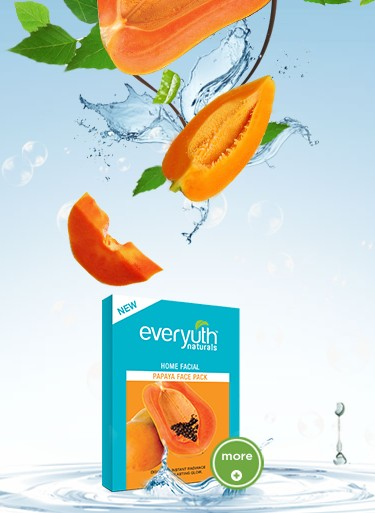 everyuth home facial papaya