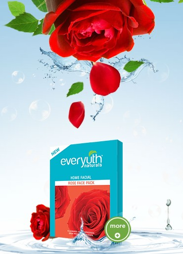 everyuth home facial rose