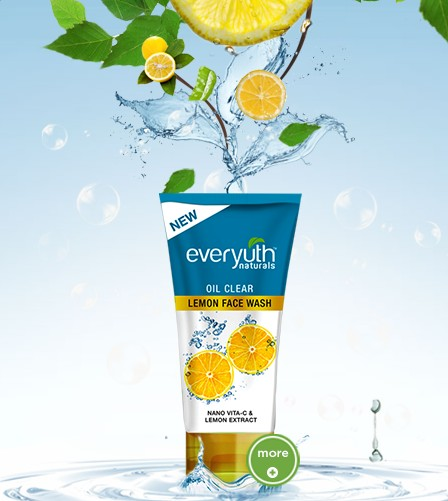 everyuth oil control lemon face wash