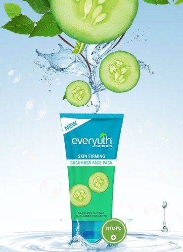 everyuth skin firming cucumber face pack