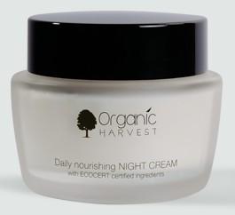 organic harvest daily nourishing night cream