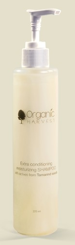 organic harvest extra conditioning moisturizing shampoo