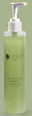 organic harvest hair fall control shampoo