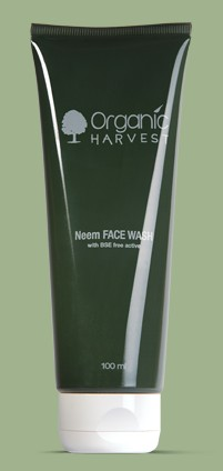 organic harvest neem face wash
