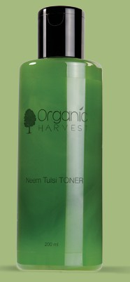 organic harvest neem tulsi toner