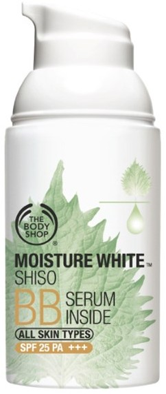 thebodyshop moisture white shiso bb serum