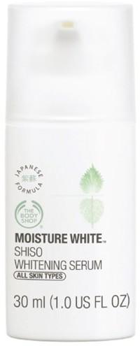 thebodyshop moisture white shiso whitening serum