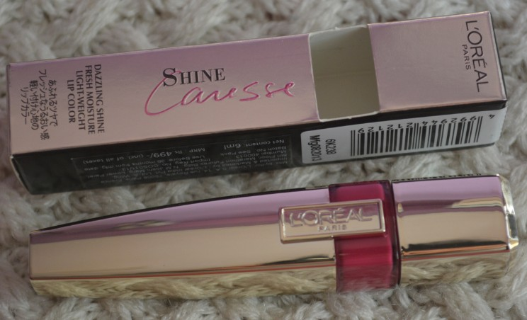 loreal shine caresse eve lip stain 3