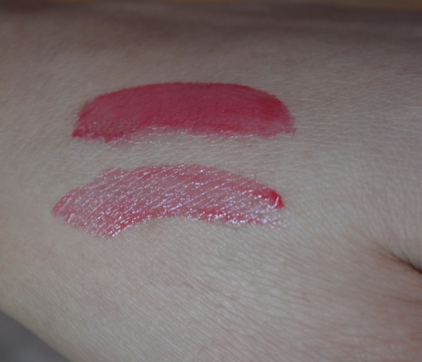 loreal shine caresse eve lip stain