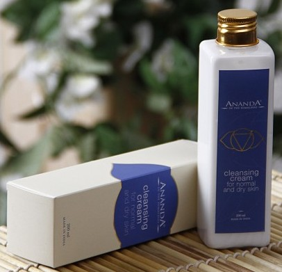 ananda cleansing cream for normal to dry skin