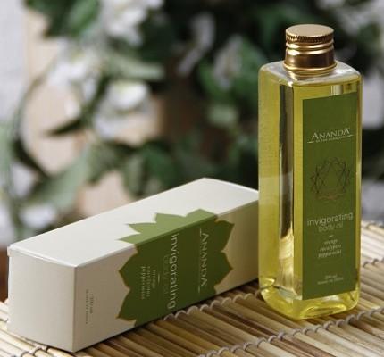 ananda invigorating body oil