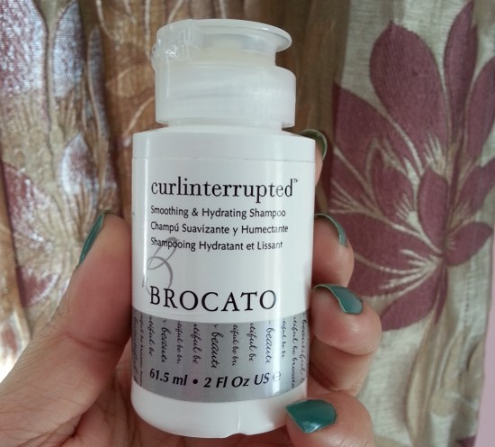 brocato curlinterrupted smoothing & hydrating shampoo