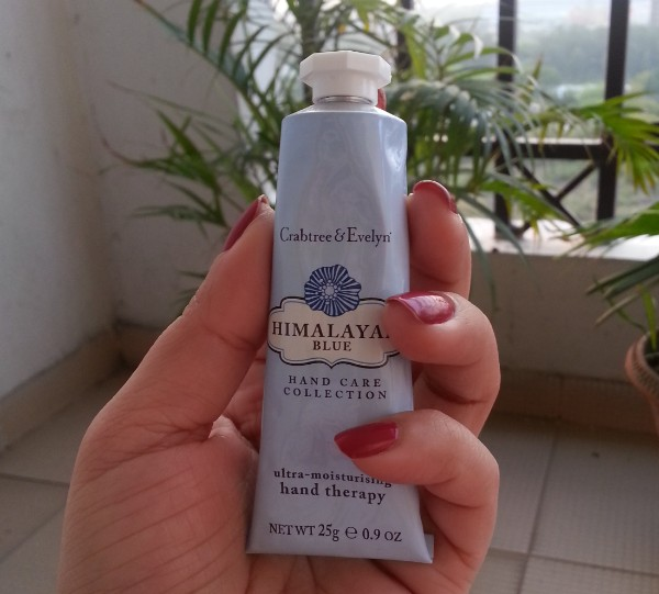 crabtree & evelyn himalaya blue hand care collection