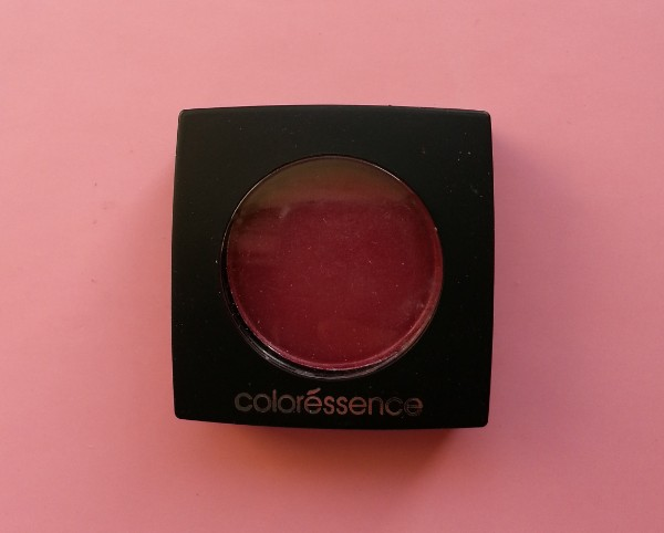 coloressence pearl eyeshadow scarlet red review 4