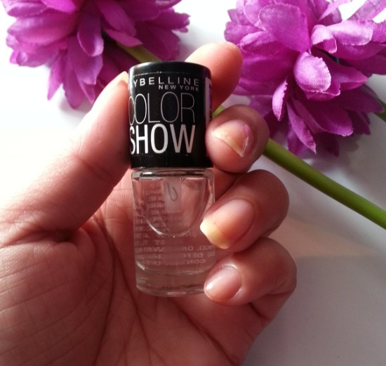 maybelline color show crystal clear 101