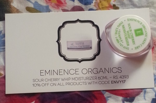 my envy box march 2014 7