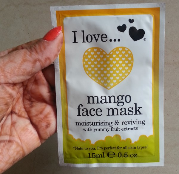 i love mango face mask review