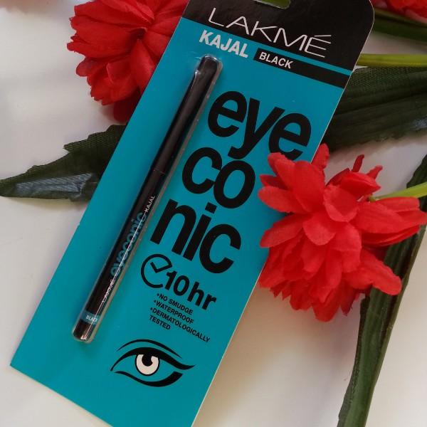 lakme eyeconic kajal review
