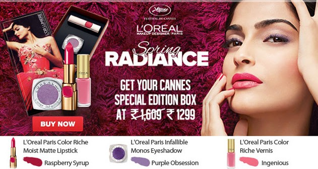 l'oreal l'or lumiere cannes collection spring radiance
