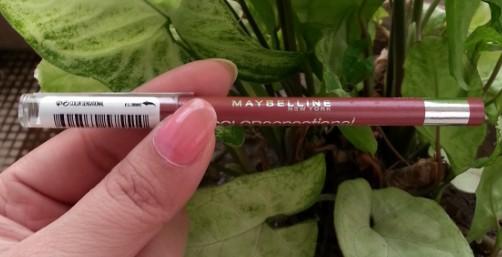 maybelline color sensational lip liner velvet beige review