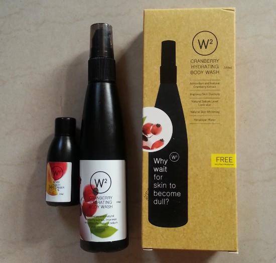 w2 (why wait) cranberry hydrating body wash