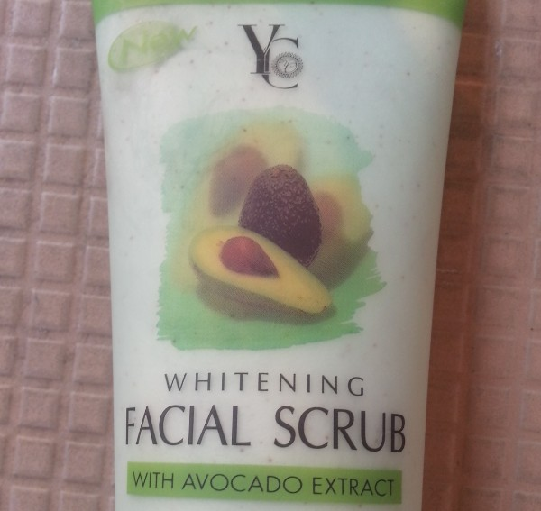 yc whitening facial scrub with Avocado extract review 1