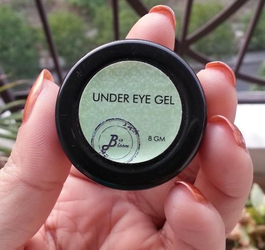 Bio Bloom natural under eye gel review