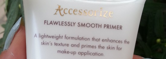 accessorize flawlessly smooth primer review 1