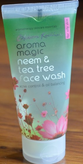 aroma magic neem & tea tree face wash