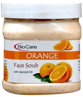 bio care orange scrub