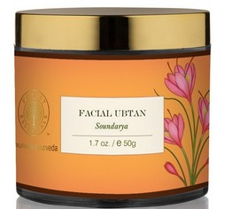 forest essentials soundarya facial ubtan