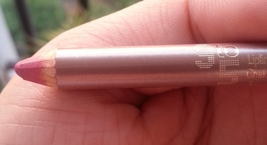lakme 9 to 5 lip liner pink blush review 2