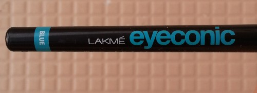 lakme eyeconic blue review
