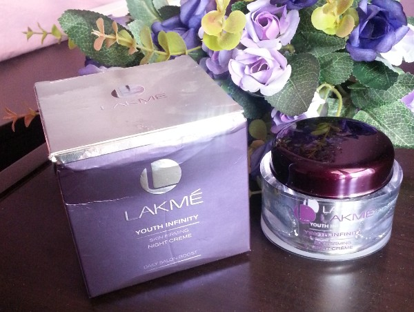 lakme youth infinity skin firming night creme review 3
