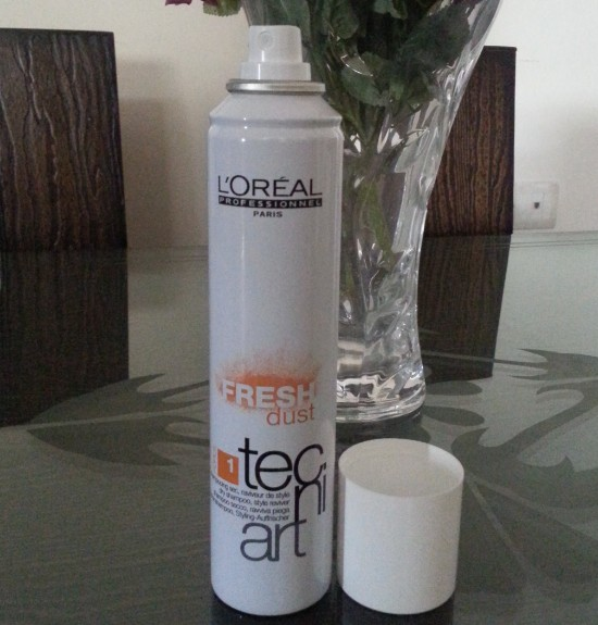 l'oreal professionnels  fresh dust dry shampoo review 4