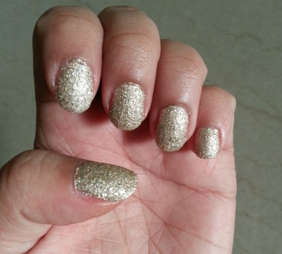 maybelline color show glitter mania all that glitters 601 5