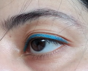 maybelline colossol kohl torquoise review