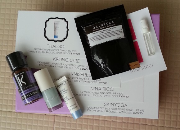 my envy box june 2014 review