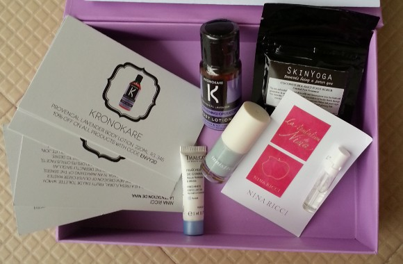 my envy box june 2014 review 4