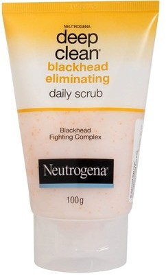 neutrogena deep clean daily scrub