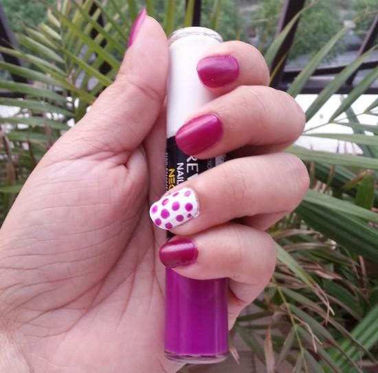 revlon nail art neon ultra violet nail enamel review 3