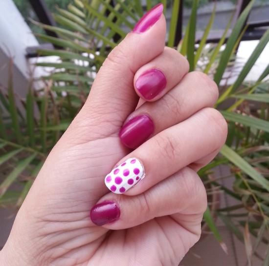 revlon nail art neon ultra violet nail enamel review 4