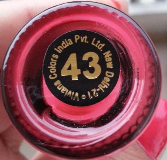 viviana pride nail lacquer shade 43 swatch 1
