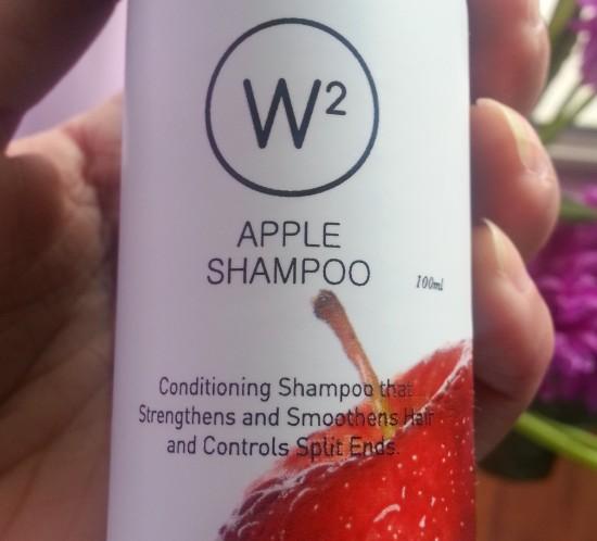w2 (why wait) apple shampoo review 5