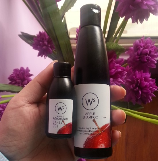 w2 (why wait) apple shampoo review 8