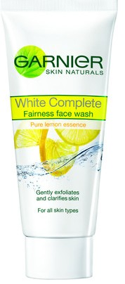 Garnier white complete fairness face wash