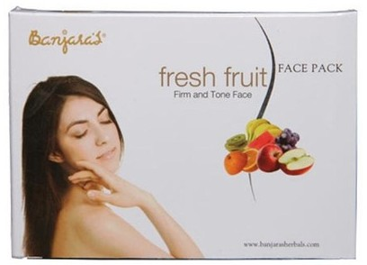 banjara's fresh fruit face pack