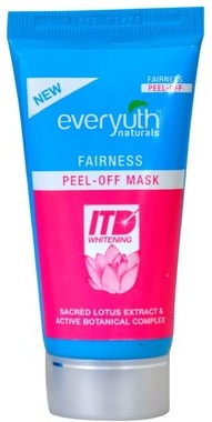 everyuth naturals fairness peel off mask